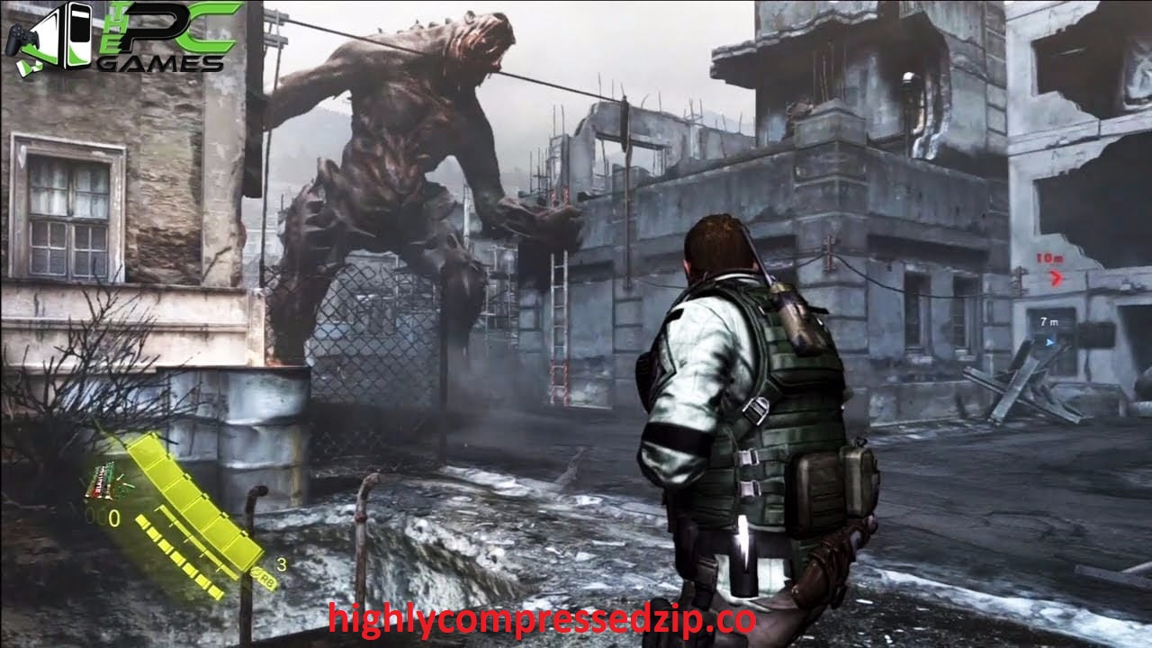 Resident Evil 6 For PC Highly Compressed Full Free Games