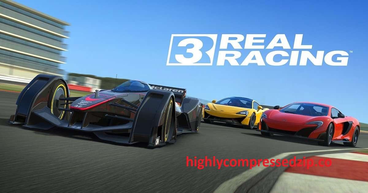 Highly compressed II Real Racing 3 APK + DATA II