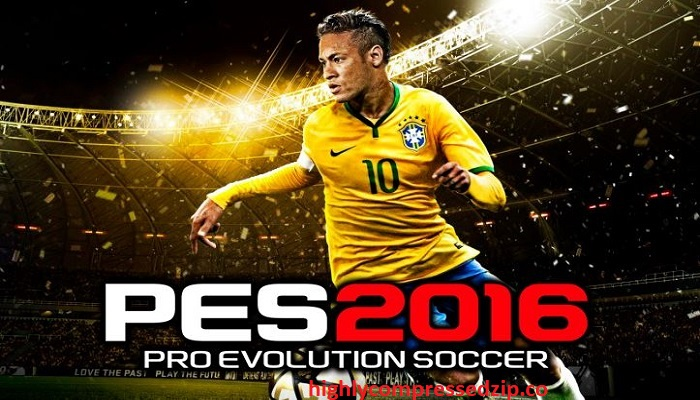 PES 2016 Game For PC Highly Compressed Free Download