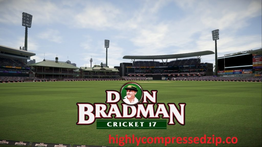 Don Bradman Cricket 17 Highly Compressed PC Download